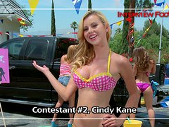 Krissy Lynn, Jessie Rogers and Remy Lacroix make video for booty competition