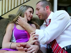 Staci Silverstone gets her pussy licked by a lawyer