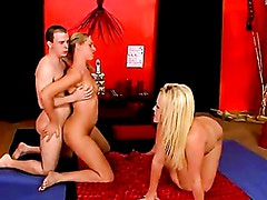 Naughty Alexis Texas And Friend Having A Hardcore Threesome Action