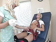 Innocent Blonde Cali Cassidy Pops Out Her Sweet Tits In Front Of A Lusty Whore