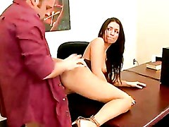 Ann Marie Getting Rammed Hard On Her Cunt Doggyway