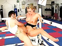 Babe Harmony Rose Gets Banged In The Boxing Gym