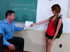Dirty teen girl Veronica Rodriguez likes it deeper