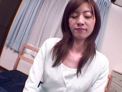 Hot Japanese babe Hanai Kanon wants him to drill her pussy