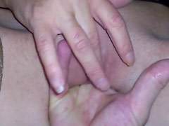 Fingering with squirt. She like it.