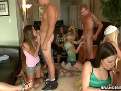 Crazy House Party Stands For A Kinky College Orgy