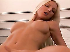 Vanessa Gold Grips Cock With Tight Pussy Grinding Up And Down