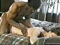 Black guy satisfies white wife - Husband cant