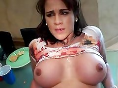 Blistering whore gets her moist pussy crammed with cock