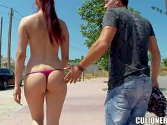 Mira is a dangerously sexy Spanish babe with perfect ass