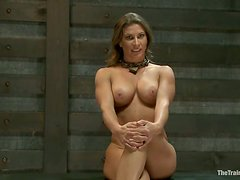 Busty Ariel X gets her pussy tortured in hot BDSM video