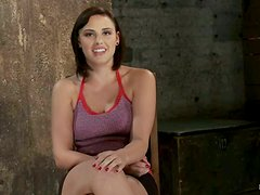 The master of tortures gives some pain for this gorgeous babe Brooke