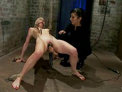 Beautiful Lorelei Lee gets tortured in an amazing BDSM action