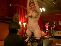 Dylan Ryan gets humiliated, tormented and fucked hard in BDSM vid
