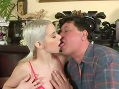 Nesty the sweet blonde gets fucked by her sugardaddy