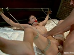Hardcore punishment for a sexy painsult lover Katie