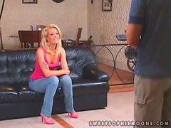 Sabrina Sweet and Sophie Moone taste each other's cunts and toy them