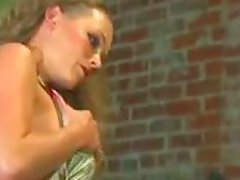 Loni and Phoenix Ray share a black cock in the garage