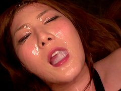 Ridiculous hardcore action for a perverted babe Momoka