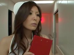 Yuna Shiina the Horny Japanese Nurse Gets A Facial