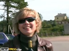 Drunken Couple Fucking Hardcore In A Tiny Jeep