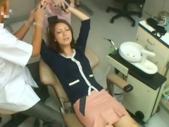 MILF Bonked By Her Dentist And His Amazing Assistant