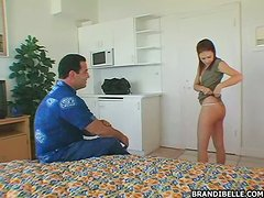 Dudes Rides His Neighbor's Cute Teen Daughter