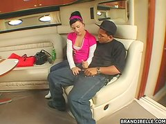 Slutty Teen Likes Dark Meat As It Gapes Her More
