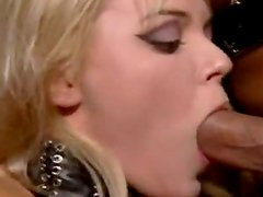 Blonde Ellen Saint Doing It All With Three Hard Cocks