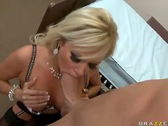 Hot Busty Doctor Squirts After Hardcore Sex