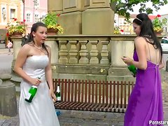 Bride Gets Drunk & Has A Bitch Fight On Her Wedding Day
