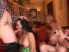 Demi Delia & Holly West switch husbands on tape