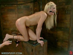 Blonde Babe Dominates Another Blonde In Brilliant BDSM Video