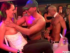 Strippers Get Blown By Crazy Hot Drunk Babes