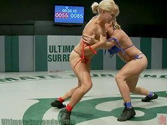 Blonde Dominated and Pounded By Her Hot Adversary