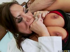 Busty Nurse Mason Moore Squirts and Gets Fucked In The Ass By Patient