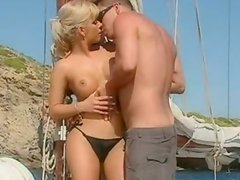 Blonde Sandra Parker Getting Her Perfect Ass Fucked On a Boat