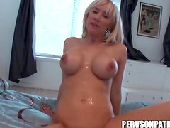 Horny Blonde With Big Melons Rides Hard Cock On POV Camera