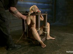Kinky Blonde's Pleased And Humiliated By Her Master