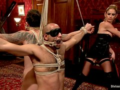 Bizarre female domination video