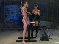 He fucks and gets fucked in female domination