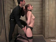 Submissive Is Tortured And Fucked By Her Master