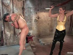 Cruel Mistress Has Her Way With Her Worthless Slave