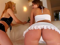 Hot Babes Have A Foursome With Big Cocks