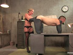Hot Mistress Humiliates Her Slave To The Extreme