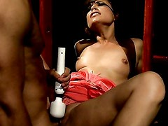 MILF gets dominated by younger lover. Part 2
