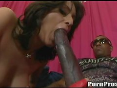 Black Cock Action For The Sexy Brunette Makali Chanel