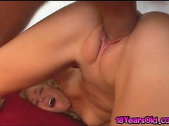 Liv Wylder Has Her Teen Pussy Stretched Out By A Big Cock