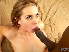 Sexy Blonde's Nailed By A Monster Black Cock