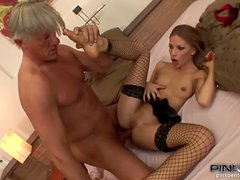 A Rough Fuck With A Big Cock For The Hot Maid Abril Sun